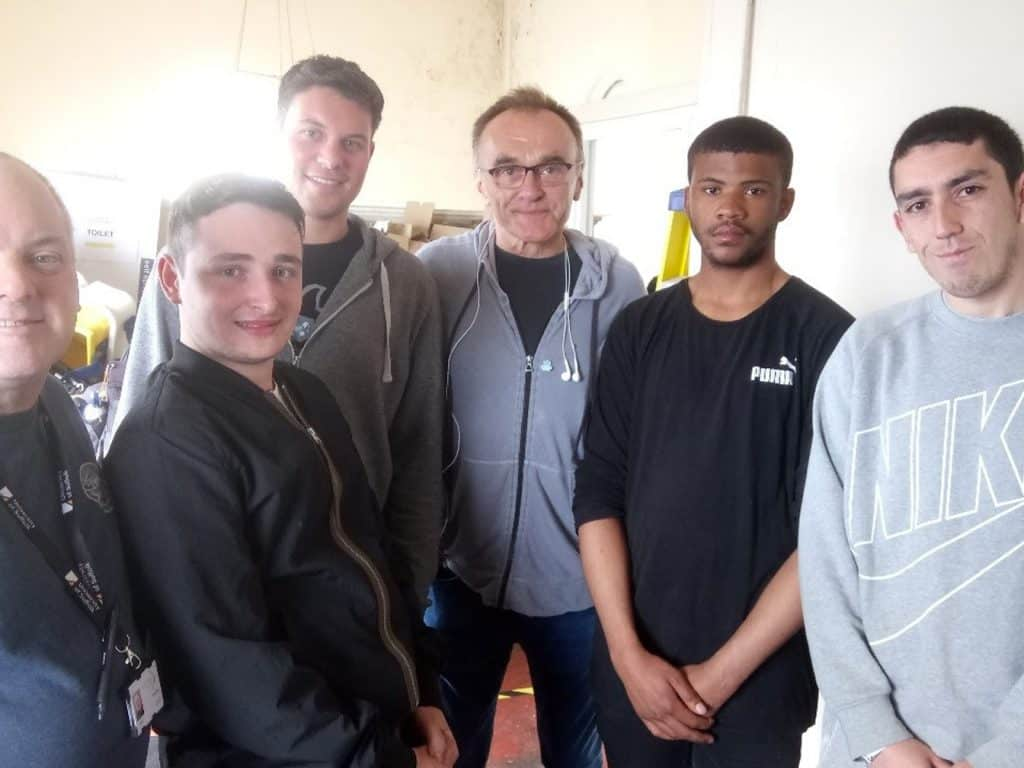 Local students work on set of award-winning Danny Boyle's new film