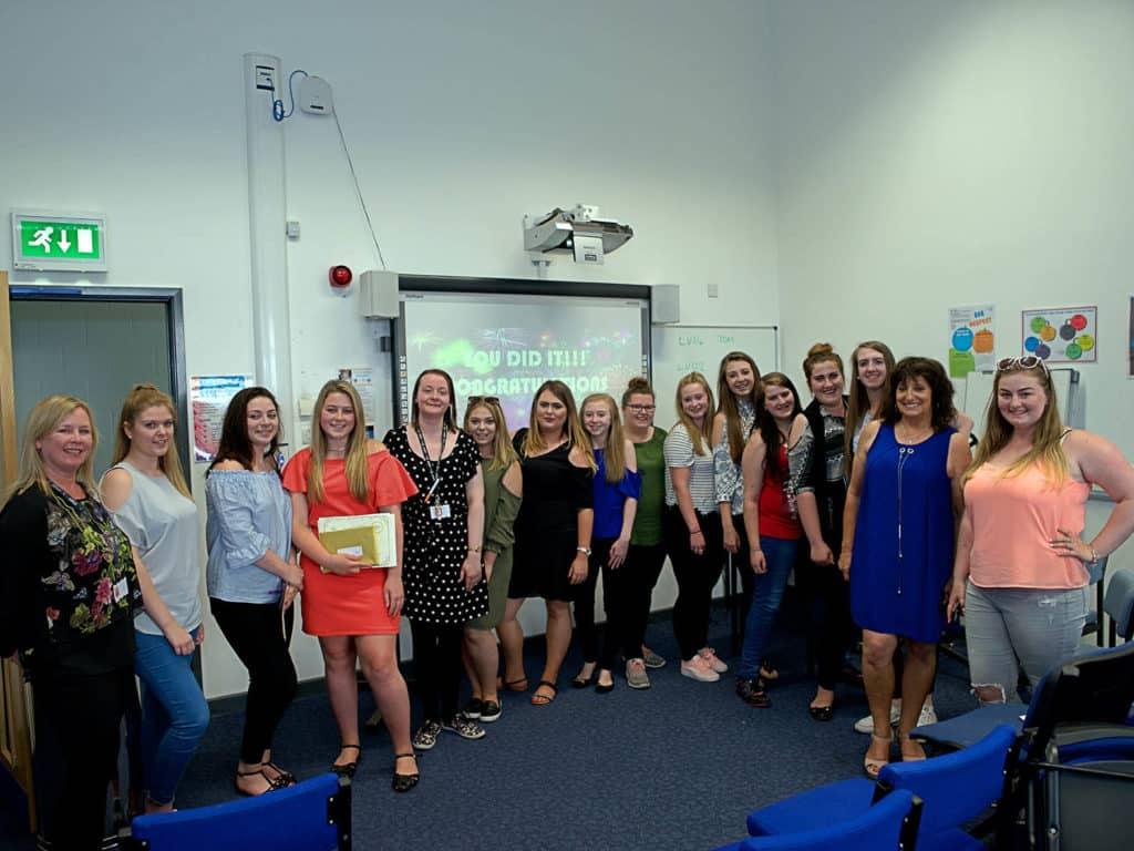 Childcare certification and celebration at East Coast College