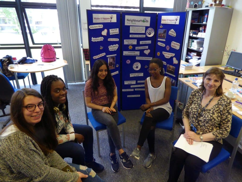 English for Speakers of Other Languages students participate in 'Active Citizens Together' workshop