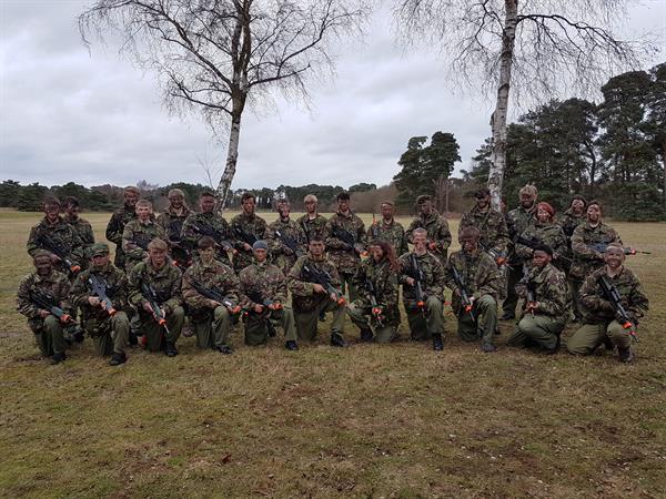 RAF Regiment Look at Life Course