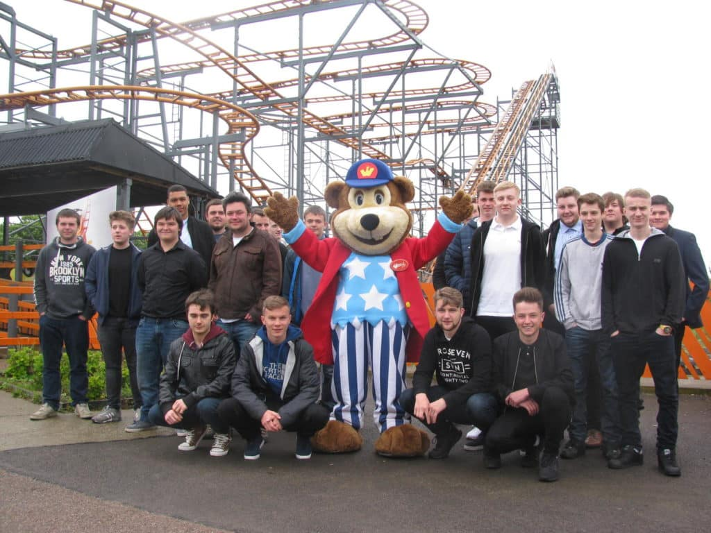 Students Riding High at Local Theme Park