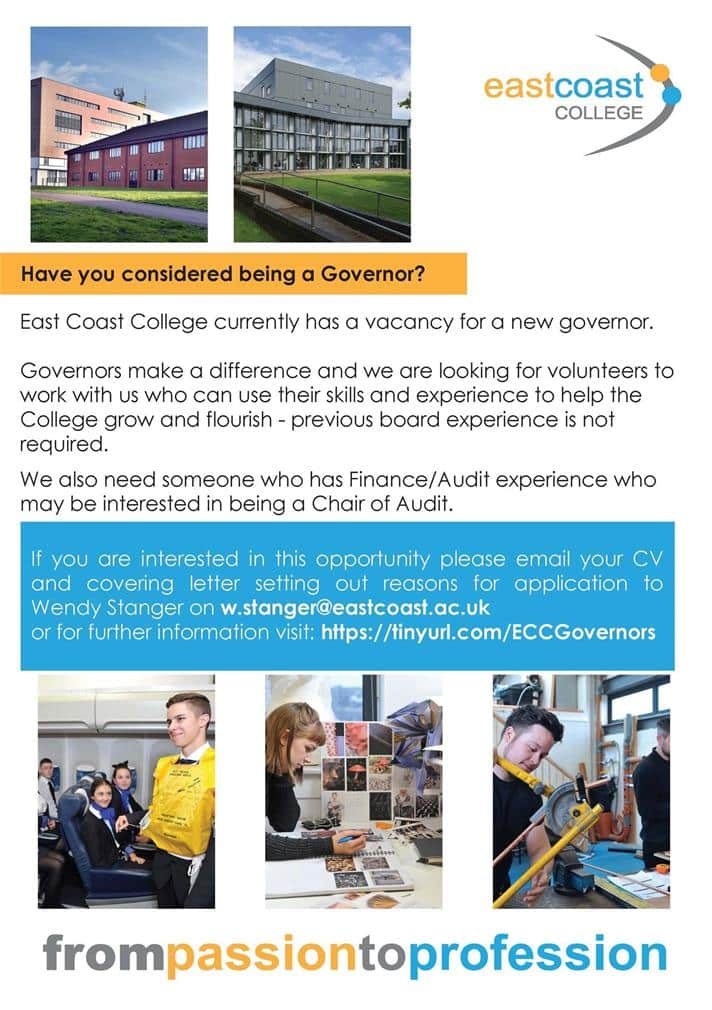 Governor Vacancy Poster