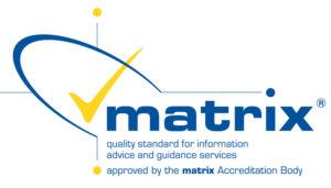 Matrix Accreditation Logo