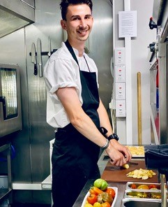 Jack Herbert, Chef de Partie Apprentice at Andover House