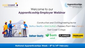 Construction and civil engineering sector webinar with Balfour Beatty, BAM Nuttall, Flannery Plant Hire and Farrans.