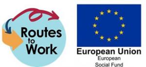 Routes to Work logo